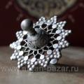 Уникальный редкий афганский перстень c солярной символикой