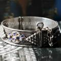 Марокканский браслет с горячей эмалью Cloisonne (перегородчатая эмаль)